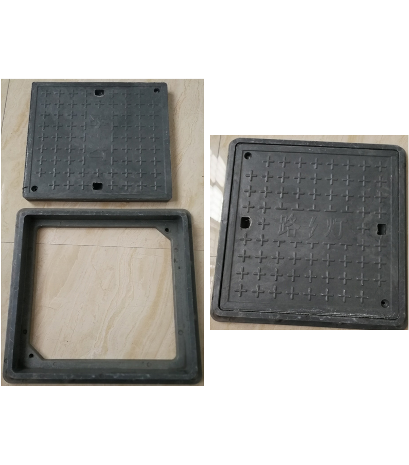 Mail state power manhole cover