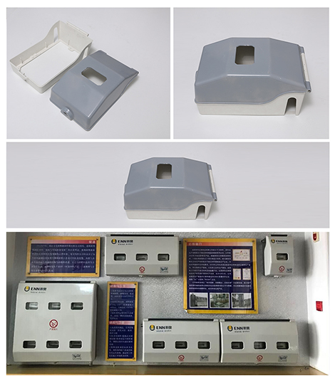 Fuel gas electric meter box